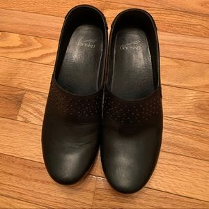 Dansko Black Clogs size 40